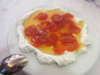yogurt sweet preserves
